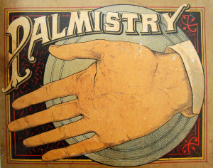 palm reading palmistry palm by Crossett Library Bennington College