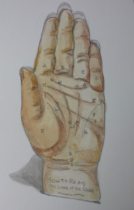 palmistry palm reading online by Rakka