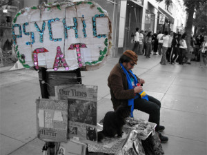 how do you find a real psychic by Aaron Dieppa